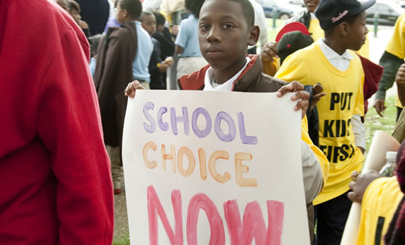 Join Us Rally To Fight for School Choice In D.C.